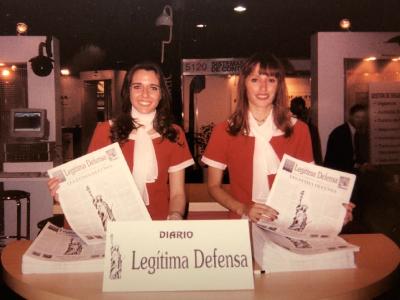 Promotoras con el Diario Legitima Defensa