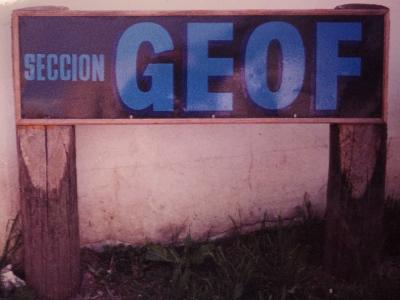 Sección GEOF