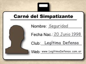 Credencia del Hincha Deportivo