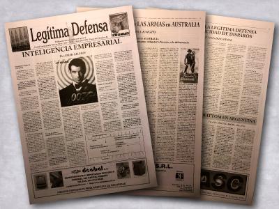 Diario Legitima Defensa Nº5 - Diciembre de 1998