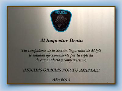 Diploma Policia de la Ciudad