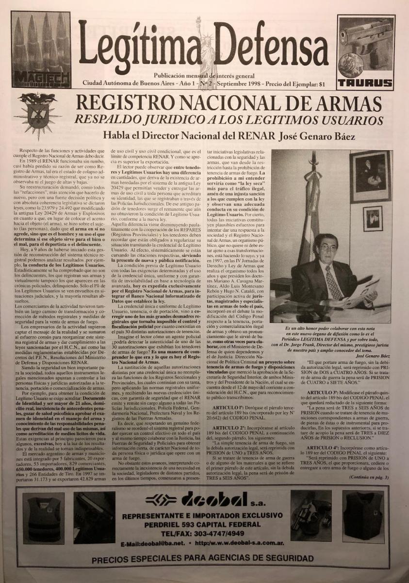 Tapa - Entrevista a Jose Genaro Baez